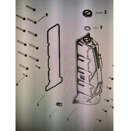 Ventilkåpspackning Mercury