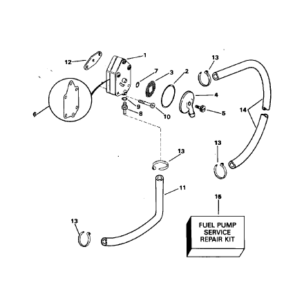 O-ring bränslepump