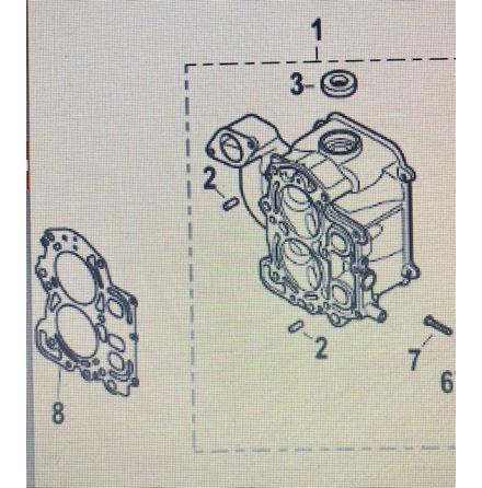 Topplockspackning Tohatsu